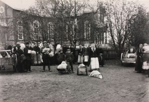 Fårmarknad i Övermark